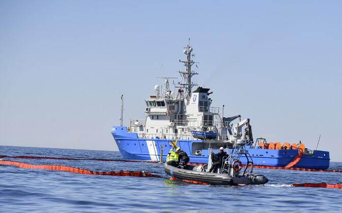 Reostuse likvideerimine Toila lähistel Narva lahes.