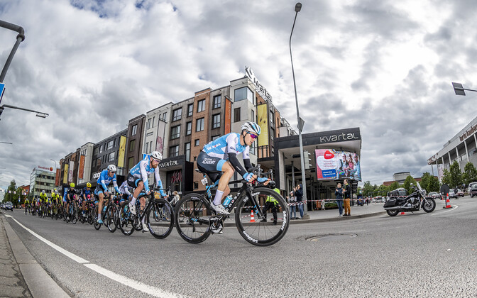 Ratturid mullusel kodusel UCI võistlusel Tour of Estonial võidu sõitmas