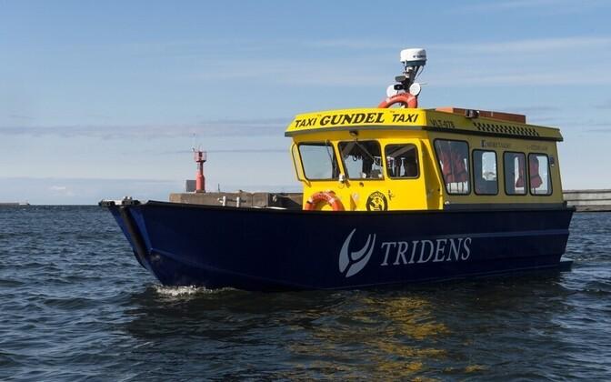 Морское такси Gundel.