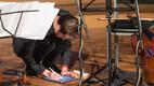 Silvia Ilves ja Marcel Johannes Kits andsid Eesti Raadio legendaarses 1. stuudios kontserdi.