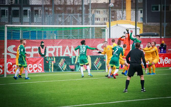 Эстонский футбол снова увидят иностранные телезрители.
