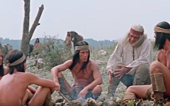 Художественный фильм Апачи (Apachen, Германия, Румыния, СССР 1973)