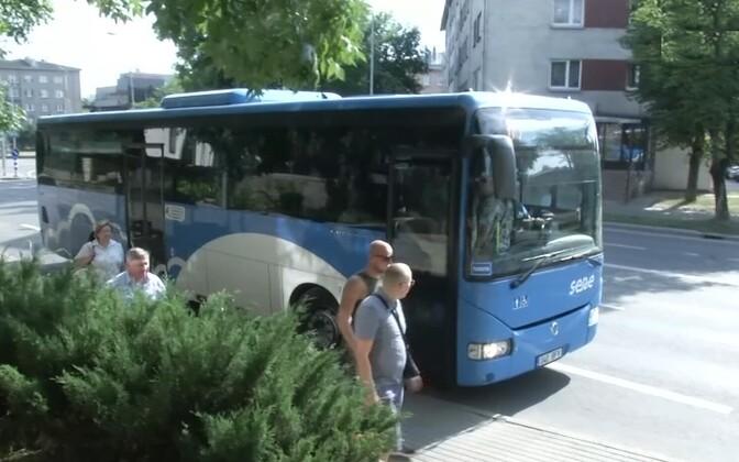 Автобусы Нарва-Йыэсуу.