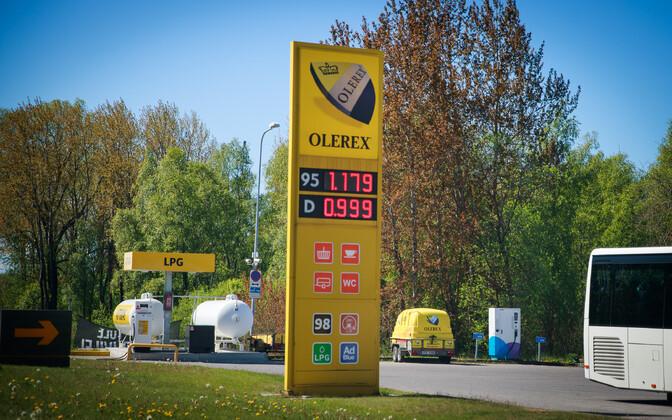 Kütuse hind tanklas