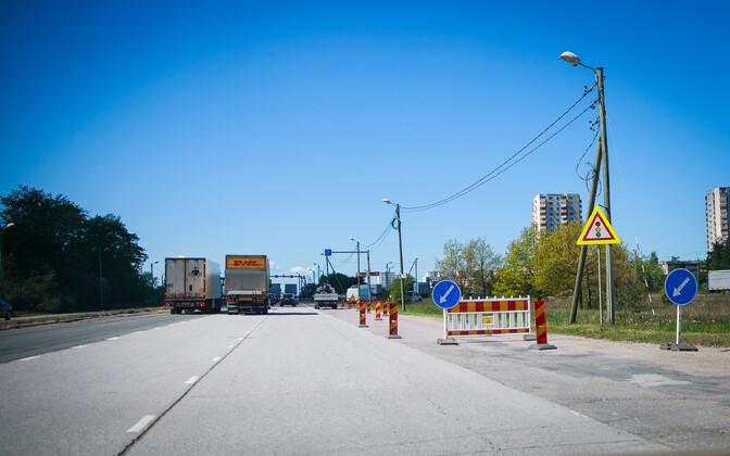 Дорожные работы на развязке Вяо существенно повлияют на организацию дорожного движения.
