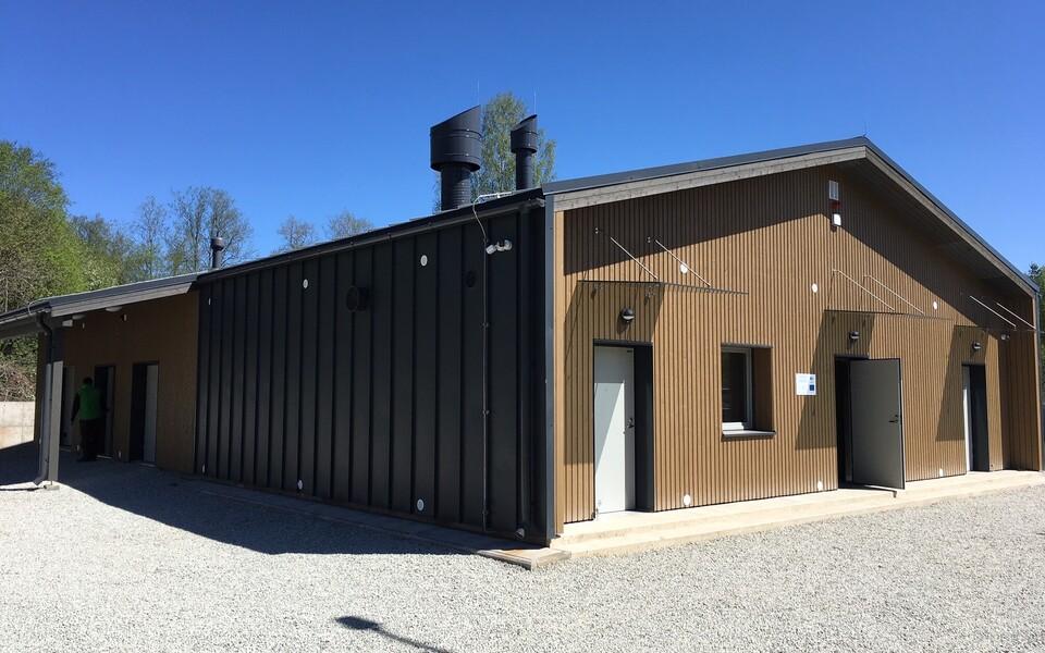Новое здание для карантина.