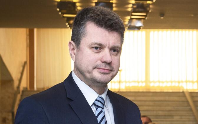 Minister of Foreign Affairs Urmas Reinsalu (Isamaa).