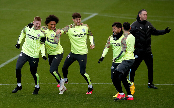 Manchester City jalgpallurid