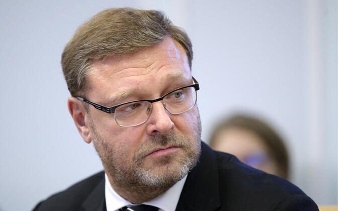 Föderatsiooninõukogu väliskomisjoni esimees Konstantin Kossatšov.