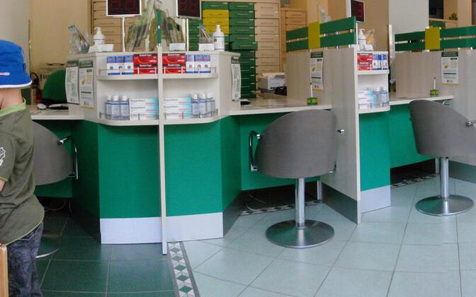 Аптека в Хельсинки.