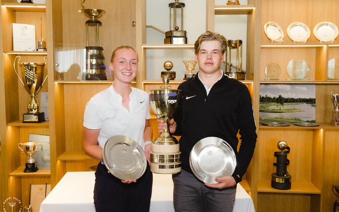Estonian Ameteur Openi golfiturniiri võitjad