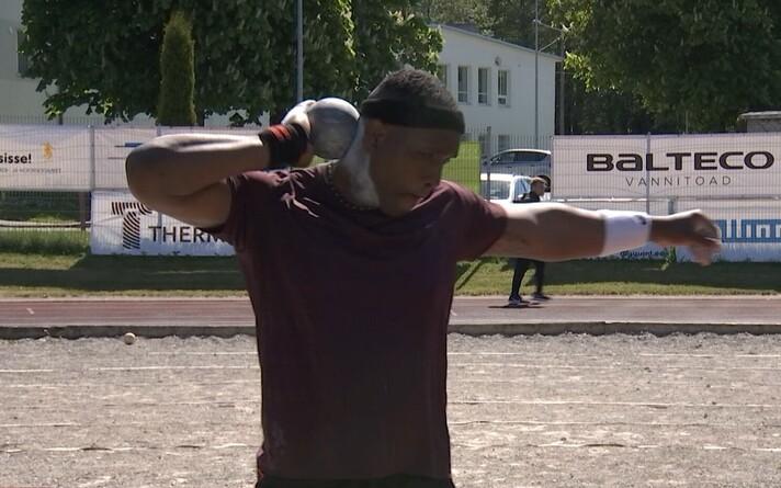 В Эстонии прошли первые легкоатлетические соревнования.