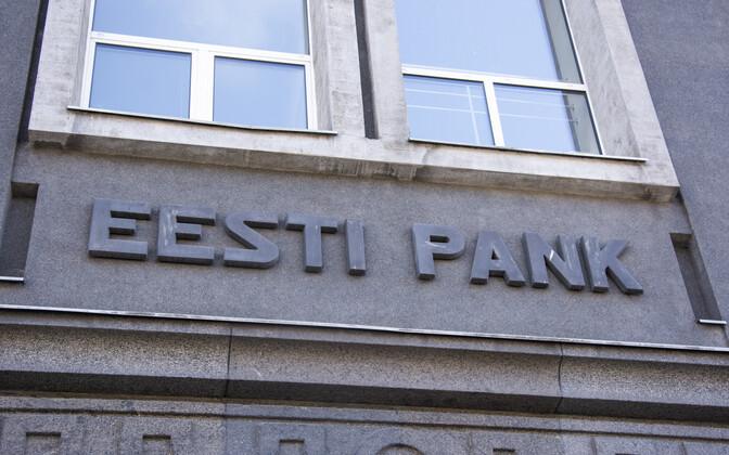 The Bank of Estonia building in Tallinn
