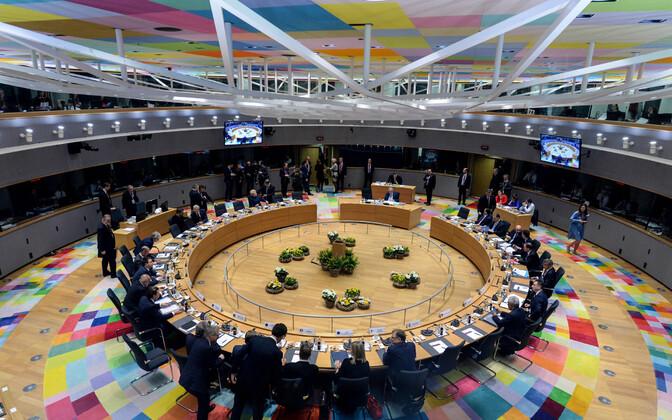 Euroopa Ülemkogude toimumispaik Brüsselis.