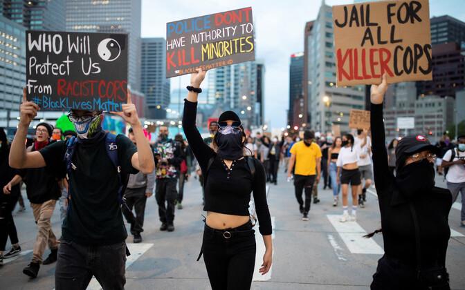 Protest USA-s Denveris.