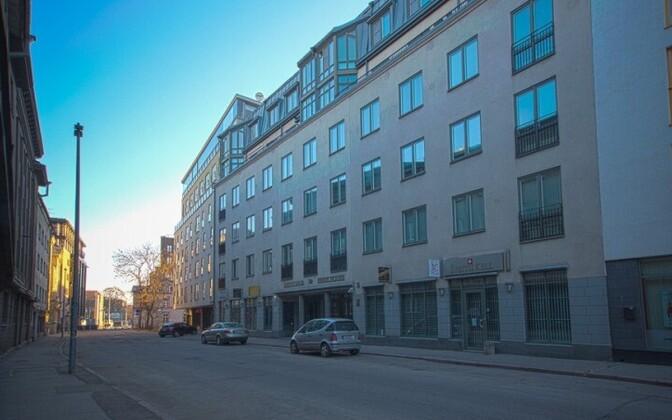 Улица Роозикрантси в Таллинне.