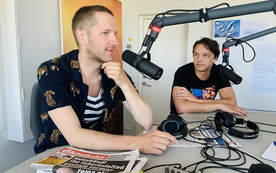Robert Linna ja Caspar Salo