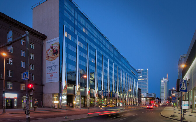Tallink City Hotel in Central Tallinn.