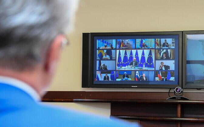 Videokonverents.