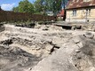 Archaeological dig in Haapsalu's old town