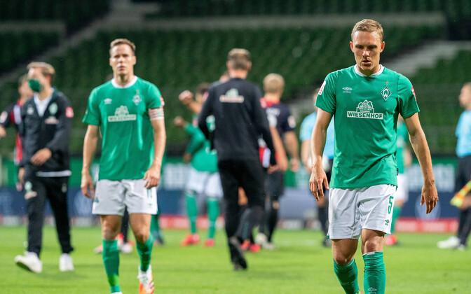 Bremeni Werderi mängijad