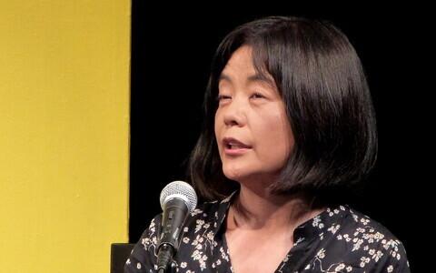 Jaapani kirjanik Yōko Tawada.
