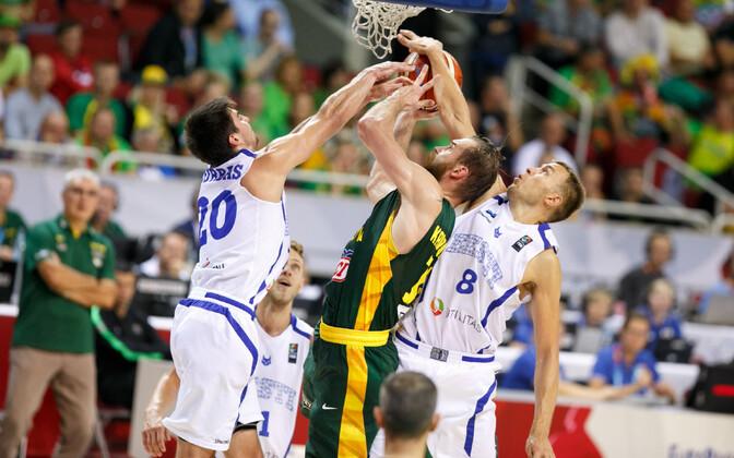 Eesti ja Leedu korvpallikoondised 2015. aasta EM-il