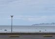 Põlev kaater Tallinna lahel.