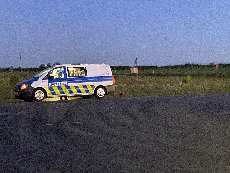 Инцидент произошел на автозаправке Olerex в ночь на 7 июня. (Фото: Juhan Hepner/ERR)