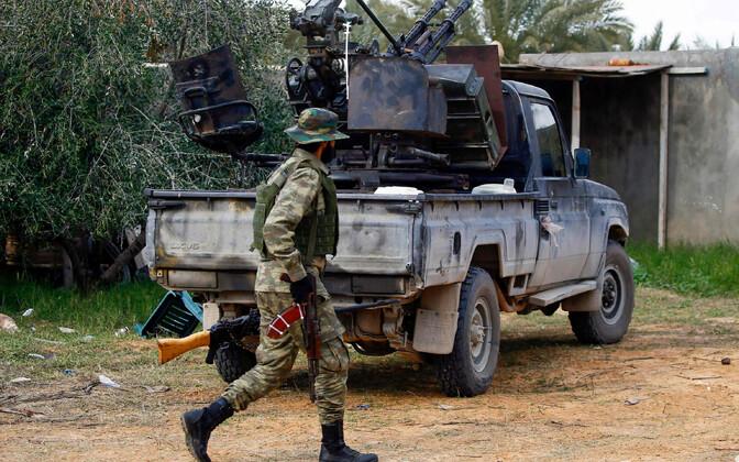 Liibüa ühtsusvalitsuse võitleja.