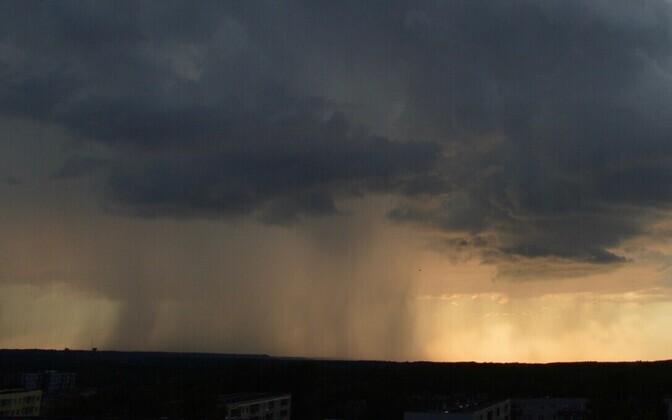 Tugev vihm