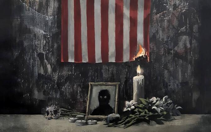 Banksy töö Black Lives Matter meeleavalduste toetuseks