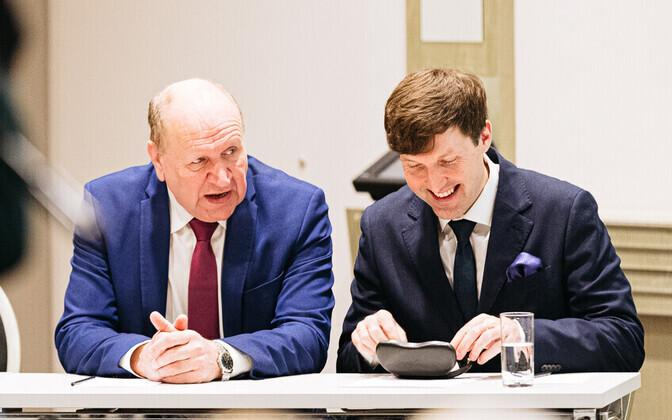 Mart ja Martin Helme.