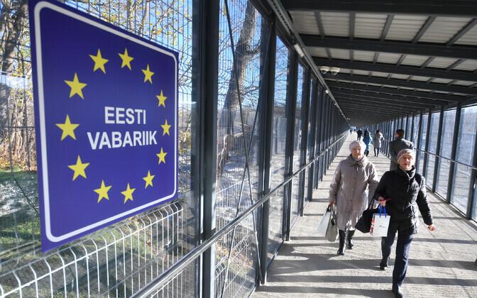 Estonian border (picture is illustrative).