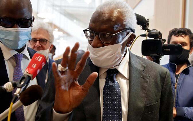 Endine IAAF-i president Lamine Diack