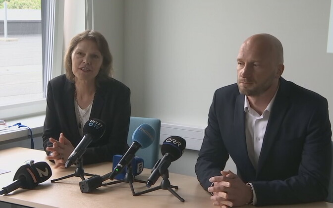 Мерике Юрило и Мартин Кадай.