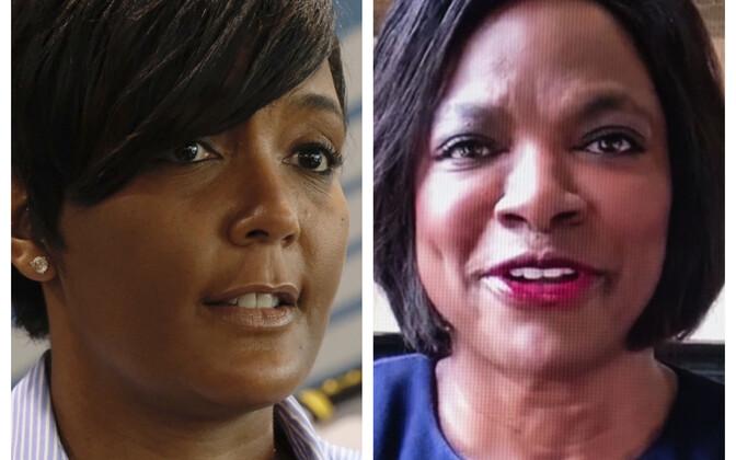 Võimalikud USA asepresidendikandidaadid: Atlanta linnapea Keisha Lance Bottoms (vasakul) ja Florida osariigist valitud esindajatekoja liige Val Demings (paremal).