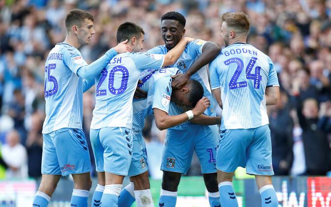 Inglismaa tugevuselt kolmanda jalgpalliliiga League One'i meistriks kuulutati Coventry City