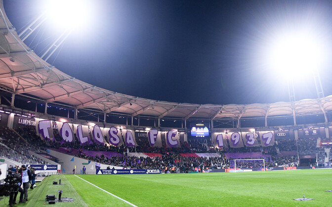 Toulouse'i jalgpallifännid