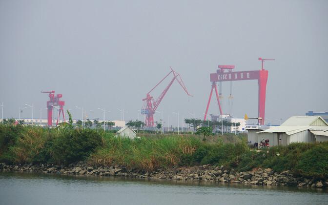CSSC shipyard. Photo is illustrative.