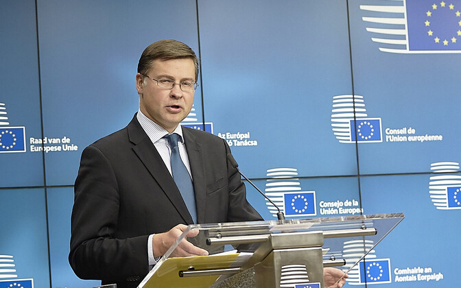Euroopa Komisjoni asepresident Valdis Dombrovskis