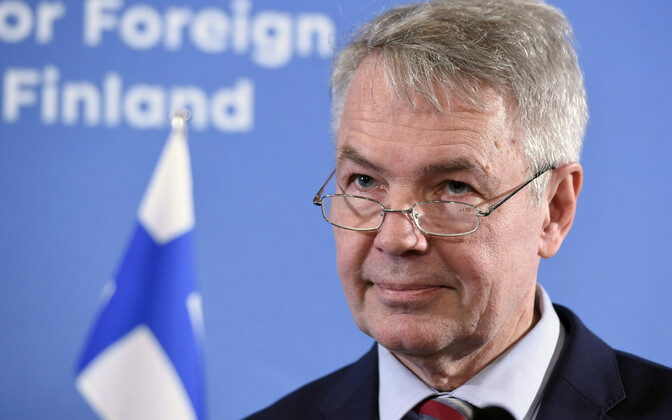 Soome välisministyer Pekka Haavisto.