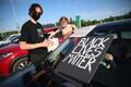 Акция против расизма в Таллинне.