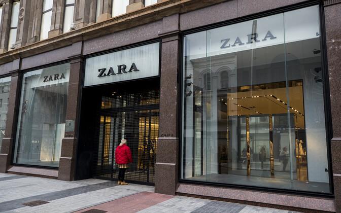 Veerand Zara poodidest on endiselt suletud.