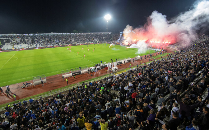 Belgradi Partizan - Belgradi Crvena Zvezda
