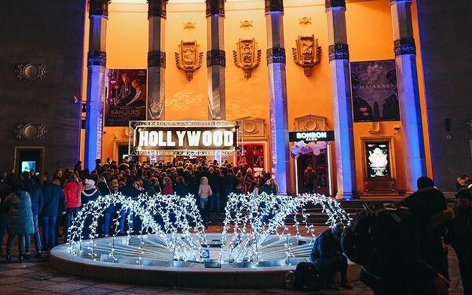 Ночной клуб Hollywood. Иллюстративная фотография.