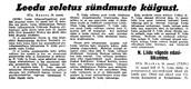 Uus Eesti 17.06.1940.
