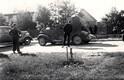 Soviet war machines on Vabaduse Ave. in the Tallinn suburb of Nõmme. June 17, 1940.
