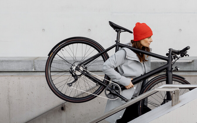 Ampler electric bike.