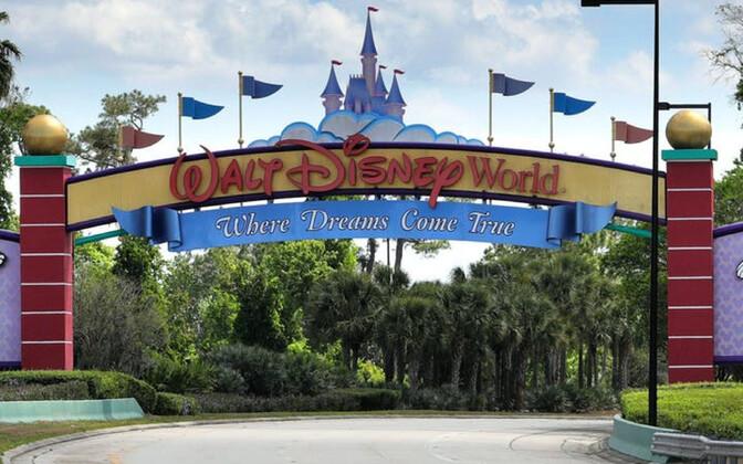 Walt Disney teemapark Orlandos